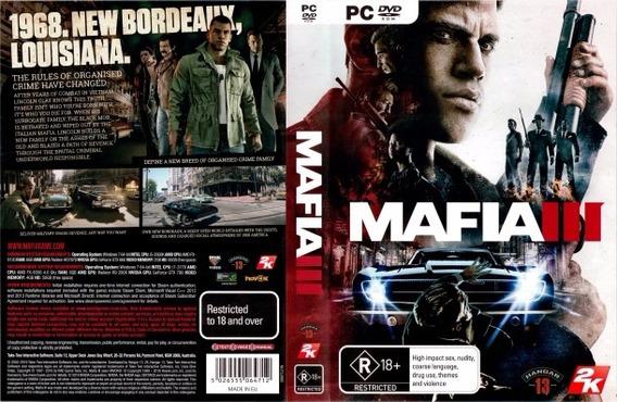 Mafia Trilogia Pc (mídia Física)