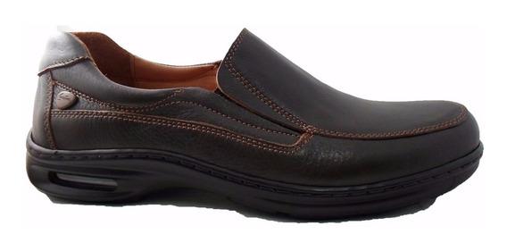 Zapato Mocasin Hombre Cavatini 70-3871 Cuero