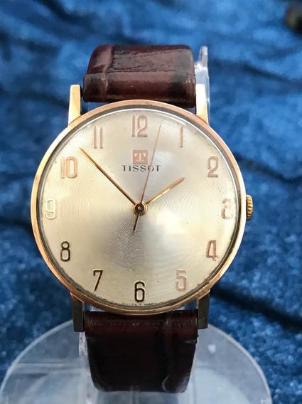 Relógio Nivel Omega Ouro 18k Maciço Tissot New Old Stock Sem Nenhum Detalhe, Impecável - 13 Anos No Mercado Livre
