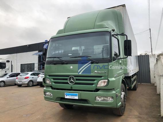 Mercedes Benz Mb Atego 1418 6x2 2008 Truck Baú = 1419 24250