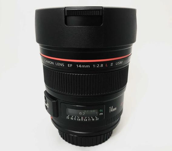 Lente Canon Ef 14 Mm F 2.8 L Ii