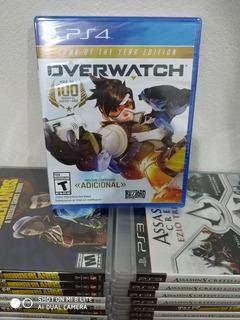 Overwatch Goty Ps4 Fisico Spacegaminglomas
