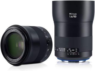 Zeiss Milvus 50mm F/1.4 Ze Lente Para Canon Ef