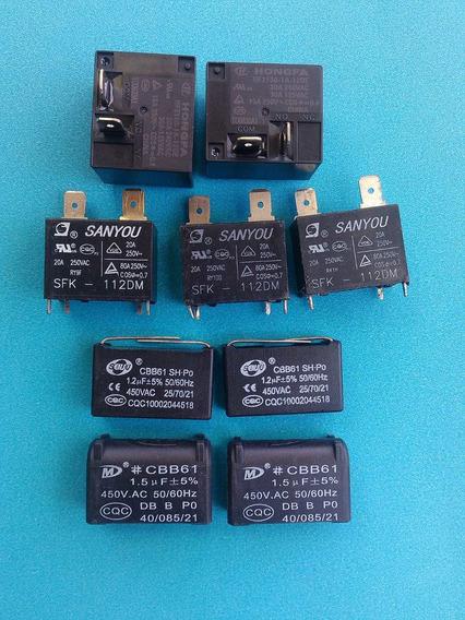 Capacitor Cbb61 1,5 Uf 450 Placa Ar Condicionado Eplit + Kit