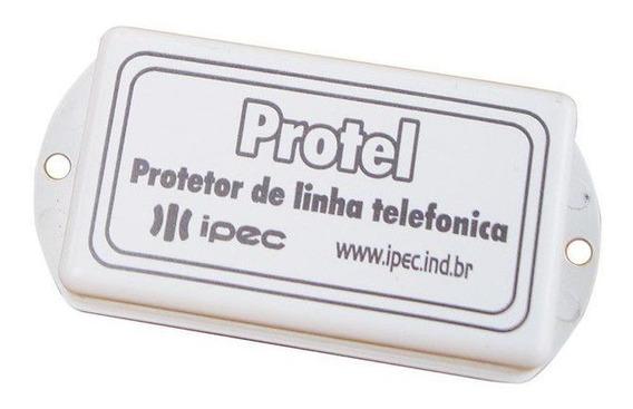 Protetor Surtos Módulo Alarme Modem Linha Telefônica Ipec