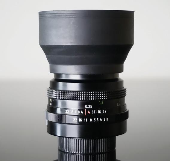 Lente Zeiss Tessar 50mm -mount Rosca M42- (última Versão)
