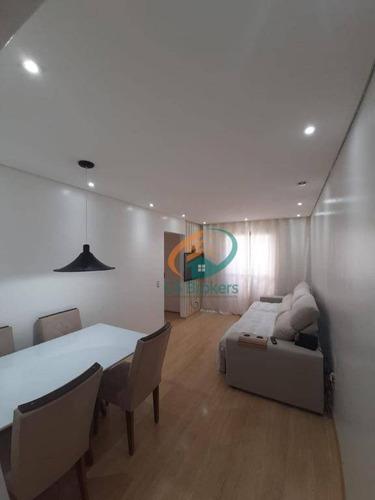Imagem 1 de 13 de Apartamento Com 2 Dormitórios À Venda, 54 M² Por R$ 265.000 - Jardim Arize - São Paulo/sp - Ap2388