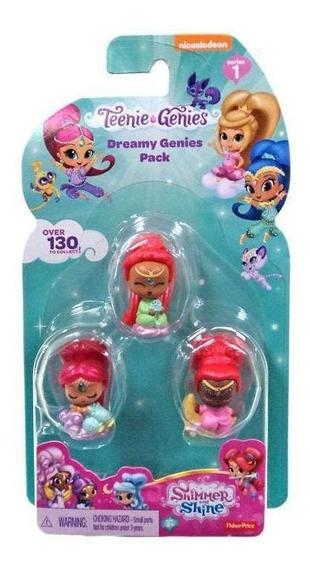 Fp Shimmer & Shine Teenie Geenies Pack - Pijamada Mágica