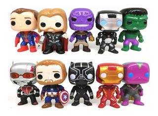Muñecos Tipo Funko Pop Avengers Thanos Thor Spiderman Y Mas!