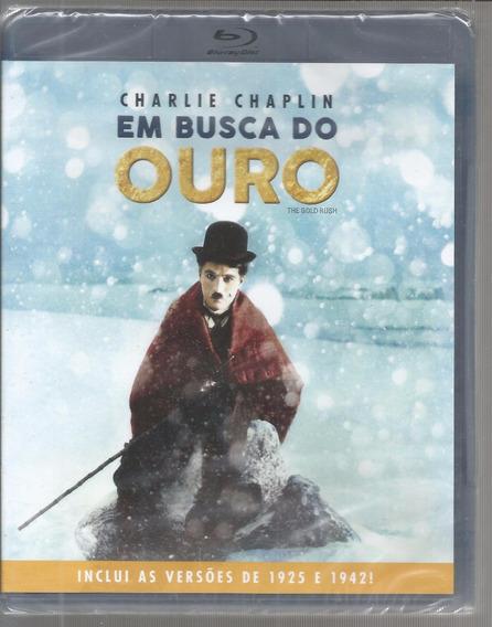 Blu-ray Em Busca Do Ouro - Classicline - Bonellihq Cx201 C18