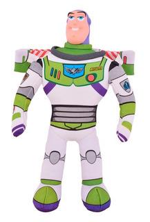 Buzz Lightyear Muñeco De Tela Cabeza De Goma 40cm Disney