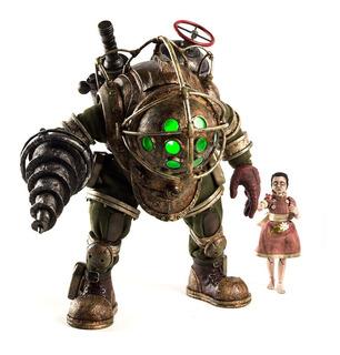 Bioshock Big Daddy & Little Sister 2 Pack 1/6 Threezero