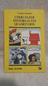Livro Histórias Em Quadrinhos Como Fazer