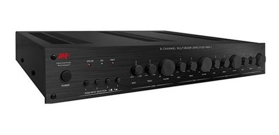 Amplificador Multiroom 4 Zonas Aat Pmr-1 Top P/ Som Ambiente