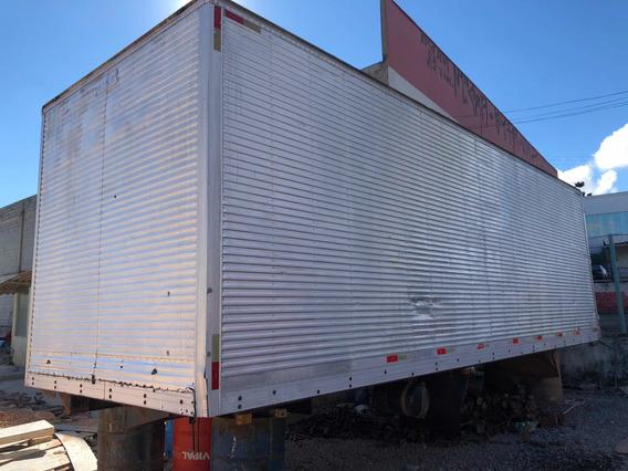 Baú De Alumínio Edarp Com 8 Metros De Comprimento 3 Portas