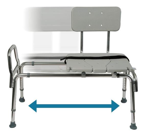 Silla Baño Transferencia Deslizante Ducha Discapacidad