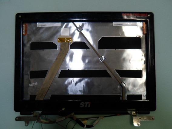 Carcaça De Tela Semp Toshiba Is1413g C/moldura Dobradiças