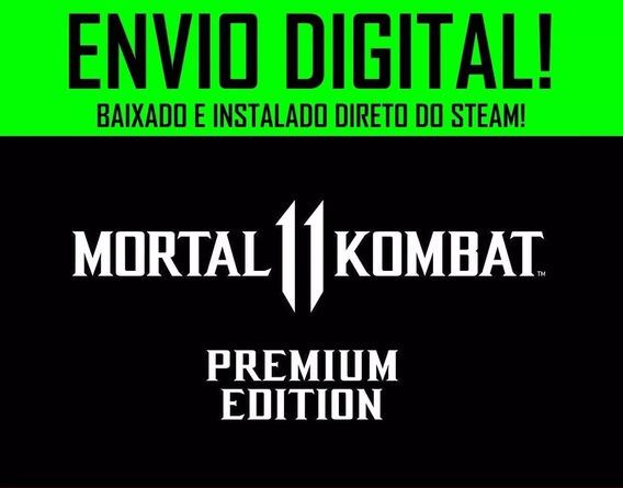 Mortal Kombat 11 Pc Premium Steam Off Mk 11 + Dlc Shao Kahn