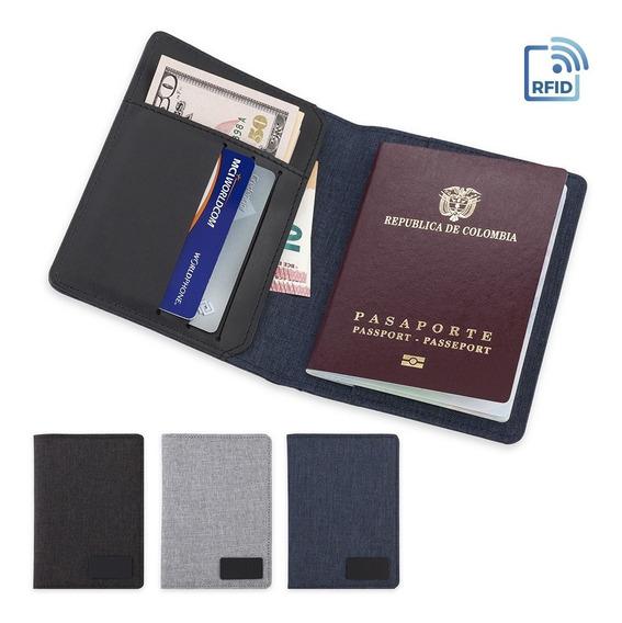 Portapasaporte Security En Lona Poliéster - Viajes