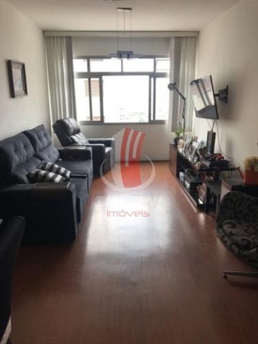 Imagem 1 de 6 de Apartamento Para Locação No Bairro Mooca, 2 Dorm, 1 Vaga, 90 Metros. - 6156