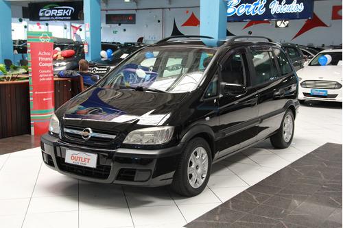 Imagem 1 de 12 de Chevrolet Zafira 2.0 Mpfi Expression 8v Flex 4p Automático