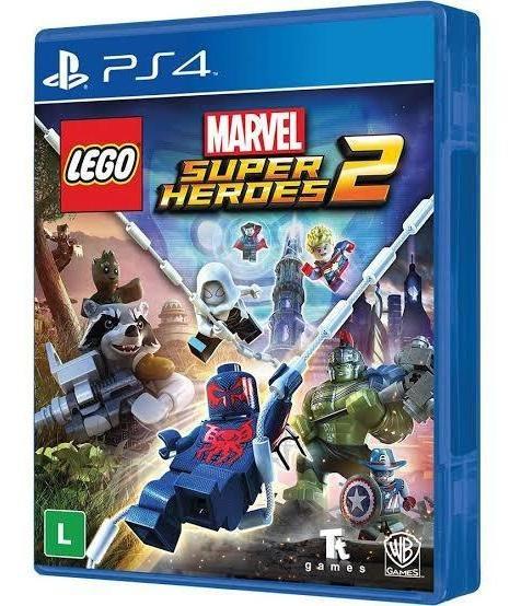 Lego Marvel Super Heroes 2 Ps4 Mídia Física (usado)