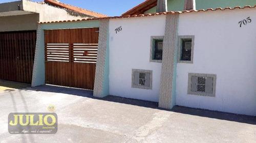 Imagem 1 de 13 de Casa Com 2 Dormitórios À Venda, 53 M² Por R$ 195.000,00 - Jardim Magalhães - Itanhaém/sp - Ca4127