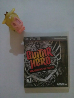 Guitar Hero Warriors Of Rock Ps3 Garantizado