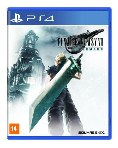 Final Fantasy Vii Remake Ps4 Mídia Física Novo Lacrado
