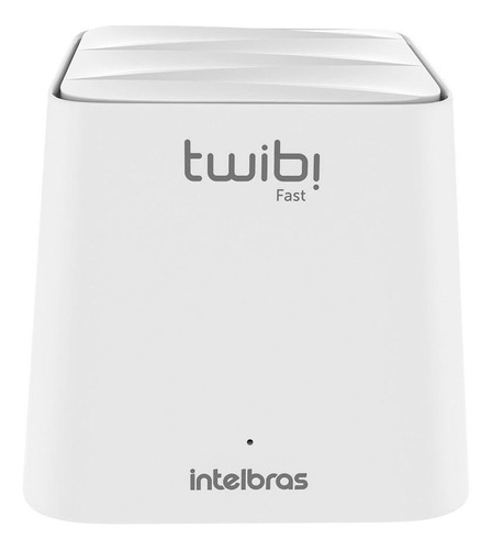 Sistema Wi-Fi mesh, Roteador Intelbras Kit Twibi Giga  branco 2 unidades
