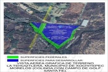 Terrenos En Venta En Club De Golf Santa Fe, Xochitepec