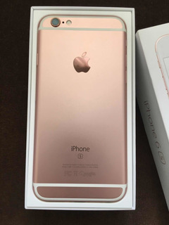 iPhone 6s 32gb Rose Gold- Garantia Apple Até Maio 2020