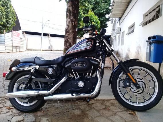 Harley Davidson 883r 2012 Preta