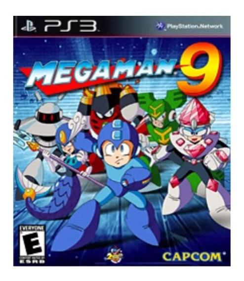 Megaman 9 Ps3 Clássico Psn Jogo Envio Rápido
