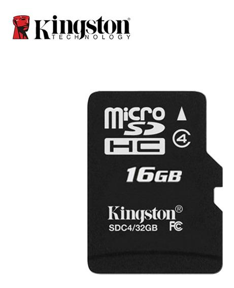 100% Original Kingston Micro Sd Cartão De Memória 16 Gb