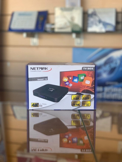Conversor Smart Tv Box 4k Ultra Hd Netmark