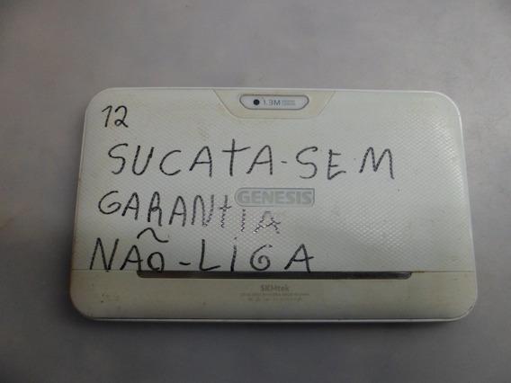 Sucata Tablet Genesis Branco G7301 Sem Garantia