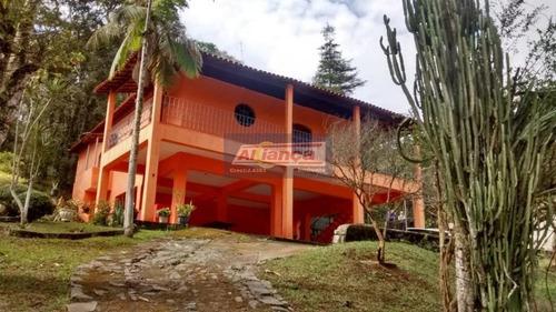 Chácara Com 3 Dormitórios À Venda, 12000 M² Por R$ 730.000,00 - Pedreira - Arujá/sp - Ai6811
