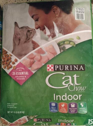 Comida Para Gatos Purina Cat Chow Indoor