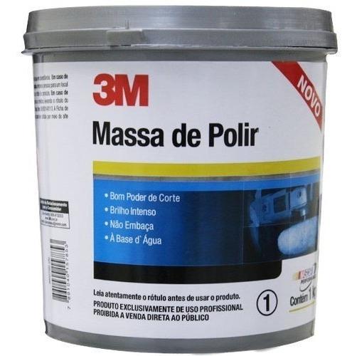 Massa De Polir 3m Espelhamento Cristalização Polimento