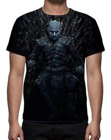 Camiseta Game Of Thrones 8ª Temporada Rei Da Noite - Estampa