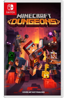 Minecraft Dungeons Hero Edition Nintendo Switch Juego Fisico