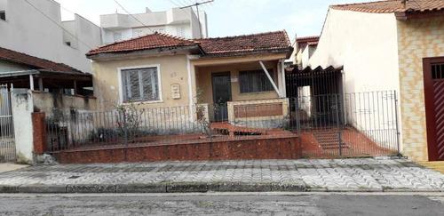 Terreno À Venda, 250 M² Por R$ 520.000 - Vila Camilópolis - Santo André/sp - Te0838