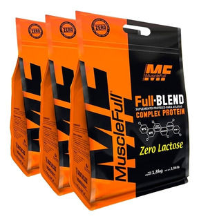 Full Blend Zero Lactose 5,4kg Refil - Musclefull - Promoção