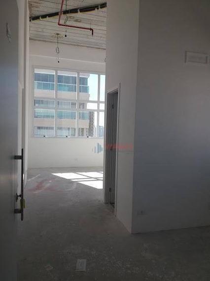 Sala Para Alugar, 65 M² Por R$ 2.300,00/mês - Jardim Aquarius - São José Dos Campos/sp - Sa0414