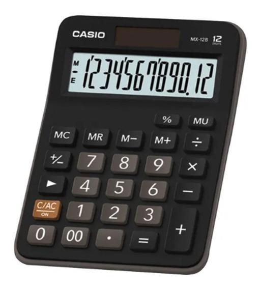 Calculadora Casio De Mesa Visor Xl, 12 Dígitos