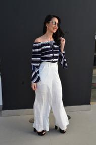 Roupas Femininas Calça Pantalona Blogueira