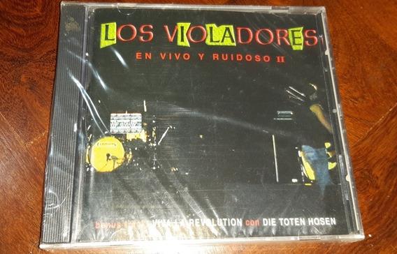 Los Violadores-en Vivo Y Ruidoso 2 (cd)