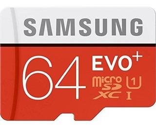 Samsung 64gb Evo Plus Classe 10 Micro Sdxc 80mb/s