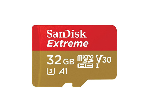 Sandisk Micro Sdhc Extreme Sd Classe10 U3 A1 4k 100mb/s 32gb